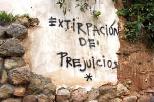 Graffito By 7 Angelitos, Cuzco (Photo: Ch'aska)
