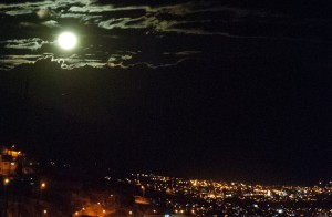 Moonrise over Cuzco (Photo: Wayra)