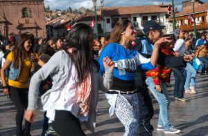 Dancing Afro-Peruvian Music (Photo: Wayra)