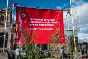 The Red Banner of Peru (Photo: Wayra)