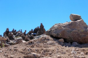 Piles of rocks and dreams called Apachetas (photo: Ch'aska)