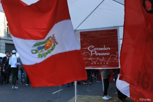 Celebrating Peru in Buenos Aires (Photo: Ch'aska)