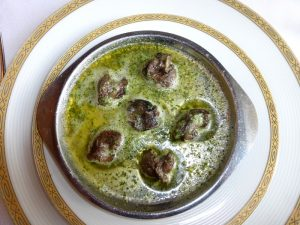 Snails in Butter and Parsley
