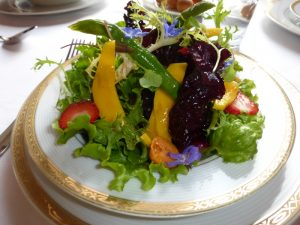 Exquisite Salad at Le Soleil