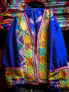 An Emboidered Jacket Used by Men (Photo: Brayan Coraza Morveli)