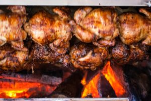 Grilled Rotisserie Chicken (Courtesy Granja Azul)