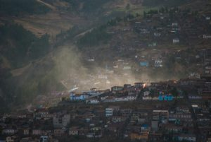 Dust Rises from Cuzco (Photo: Wayra)