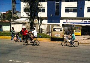 Riding Bicycles to Get Around (Photo: Brayan Coraza Morveli)