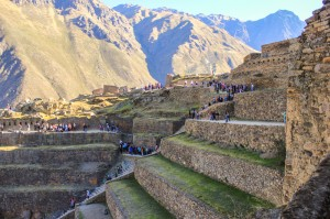 Terraces of Ollantaytambo (Photo: Wayra)