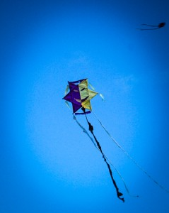 A Kite Flying in Cuzco (Photo: Wayra)