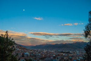 Sunset in the City of Cuzco (Wayra)