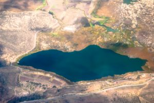 A View of a Lake from the Plane (Photo: Wayra)