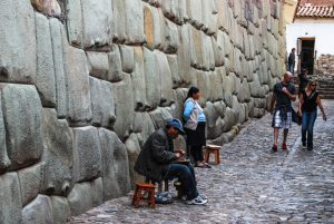 Stunning Inca Wall in Inca Roca Street, Cuzco (Photo: Wayra)