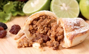Empanadas and Limes, a Great Peruvian Combination
