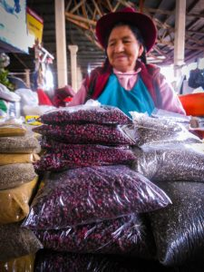 Find this Crimson Seed in All Cuzco Markets (Photo: Walter Coraza Morveli)
