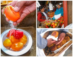 Rcotos are Cuzco Delights, Markets are Filled with Colorful Rocotos (Photo: Wayra)