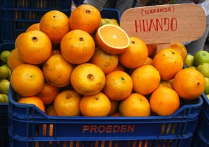 Oranges For Sale in Vinocanchon Market (Photo: Walter Coraza Morveli)