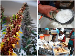 Cuzco Street Food, Quinoa Breakfast and Quinoa Chicha (Photo: Walter Coraza Morveli)