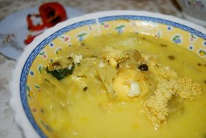 One of the Twelve Dishes of Holy Week in Cuzco, Olluco with Fish Eggs (Photo: Walter Coraza Morveli)