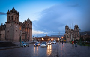 The Inca Haucapata, the Great Square of Inca Cuzco (Photo: Walter Coraza Morveli)