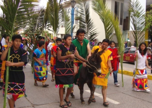 Palm Sunday Entrance, Avenida Sol