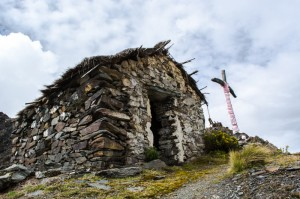 The Shrine on Amparaes Pass (Photo: Walter Coraza Moreli)