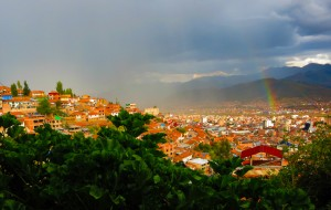 A Magical View of the City of Cuzco