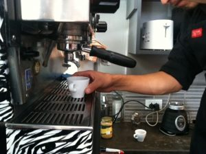 Making an Espresso (Photo: David Knowlton)