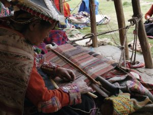 Weaving in Pitumarca