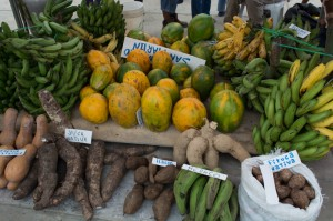 Banana, Papaya, and Yuca For Sale