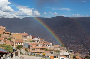 Rain Brings Rainbows in Cuzco (Walter Coraza Morveli)