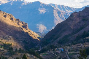 The Canyon above Pisac (Walter Coraza Morveli)