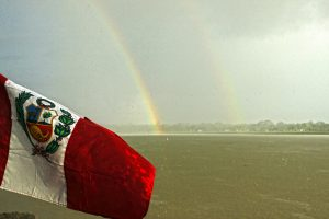 A Double Rainbow Welcomes Us (Gabriela Filgueira)