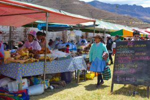 Stands of Cusco's Traditional Food (Janet Ramirez)