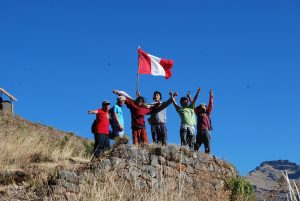 Waving the Peruvian Flag (Wayra)