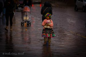 Little Girl in the Plaza de Armas
