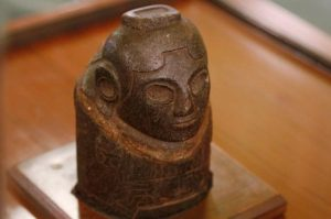 The ancient Ekeko recently returned to the Andes