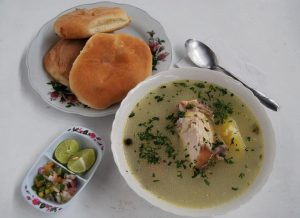 Caldo de Gallina, a Delicious Dish for Breakfast