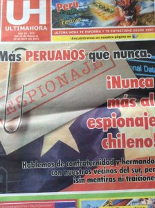 The Latest Copy of EUltima Hora Newspaper