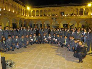 Teachers and Staff of the Salesian School in Cuzco