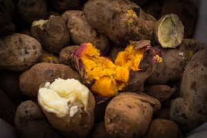 Yum, Hot and Tasty Baked Tubers (Walter Coraza Morveli)