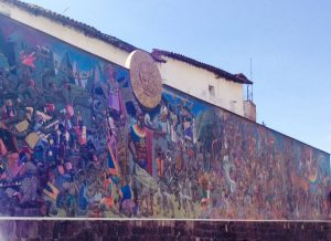 Mural on the Sun Avenue (Arnold Fernandez)