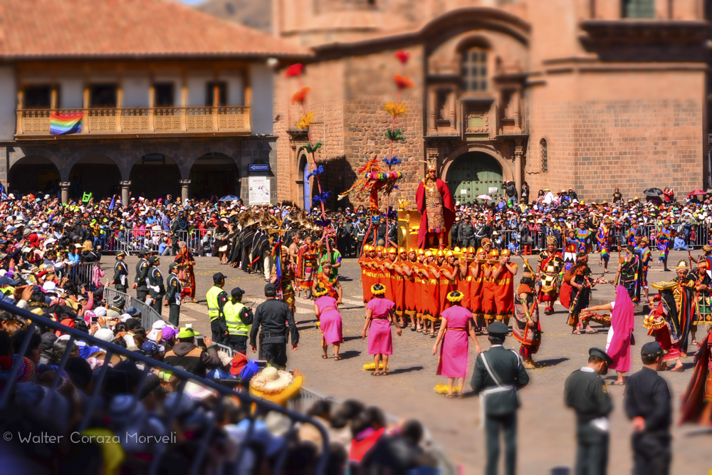 Inti Raymi in the Plaza Today (Walter Coraza Morveli)