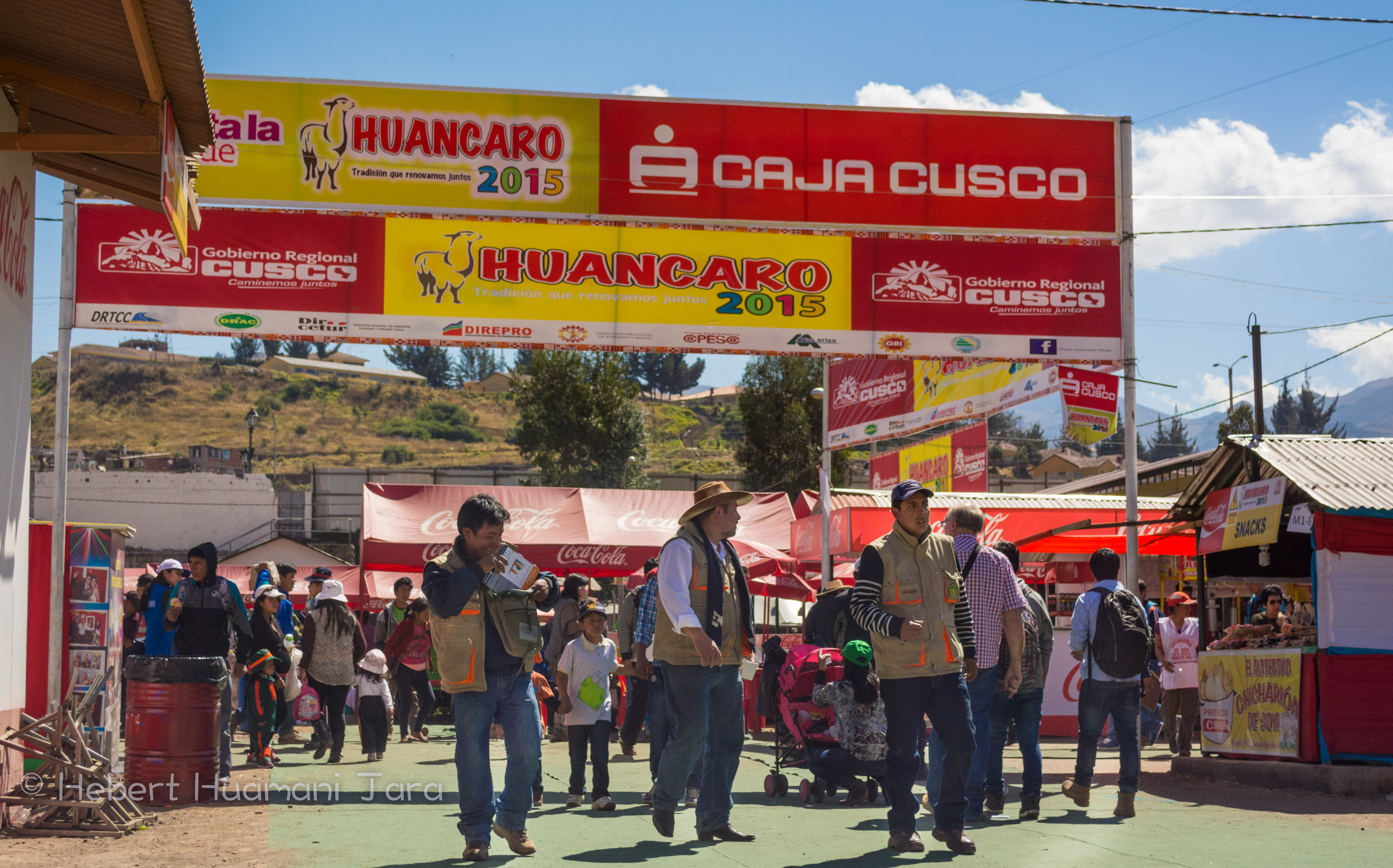 The Entrance of Huancaro Fair