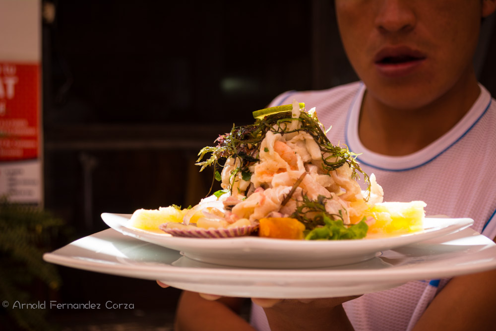The Paisa's Special Ceviche (Arnold Fernandez Coraza)