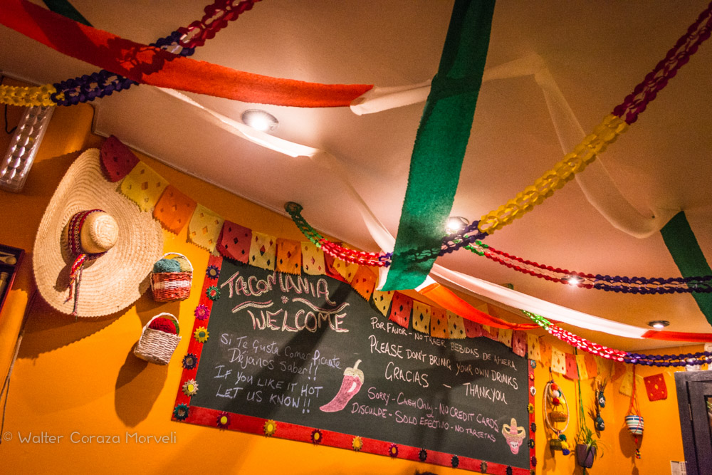 Inside Tacomanía and its Fantasy Cantina (Walter Coraza Morveli)