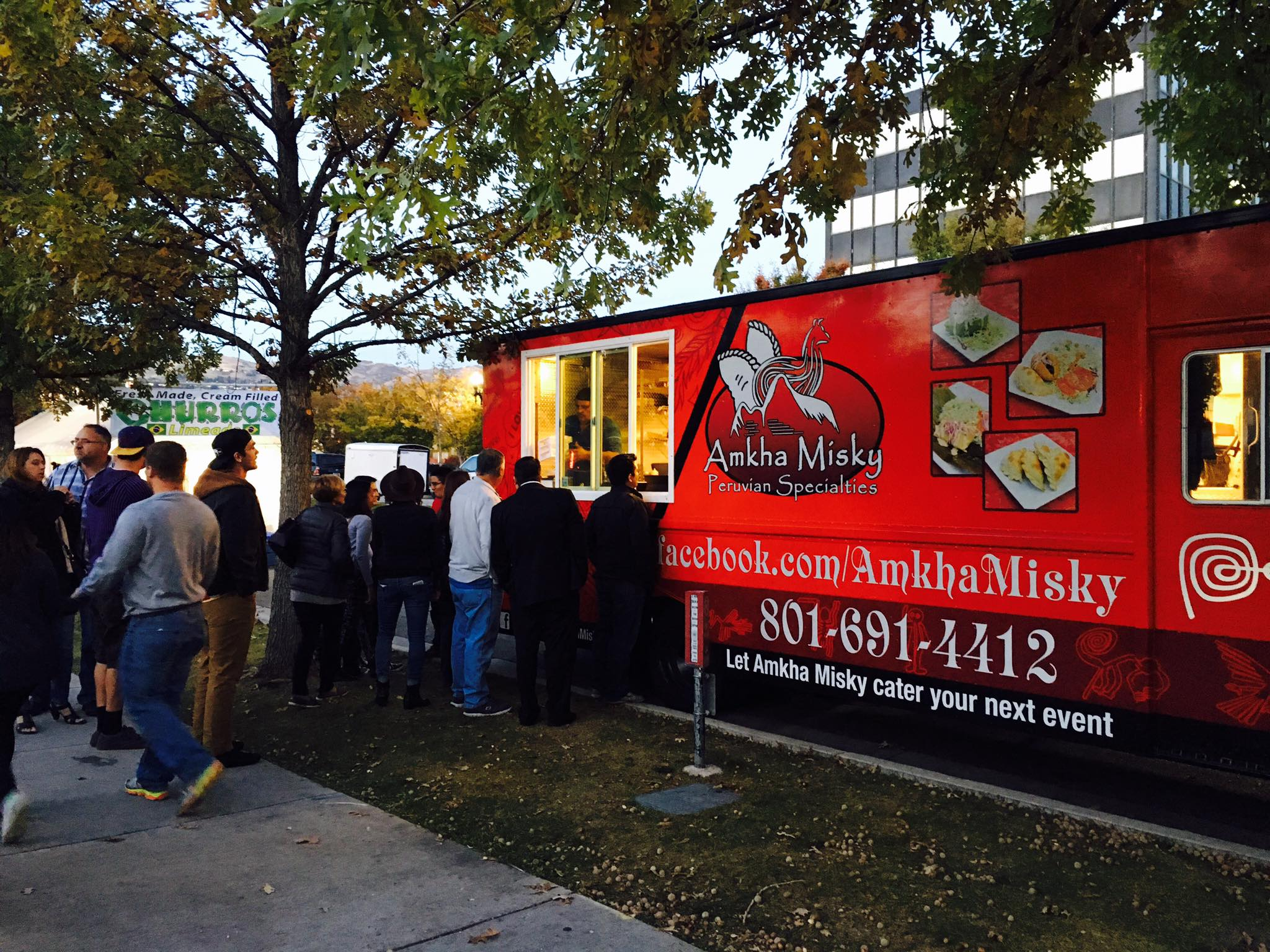 Amkha Misky Peruvian Food Truck in the United States