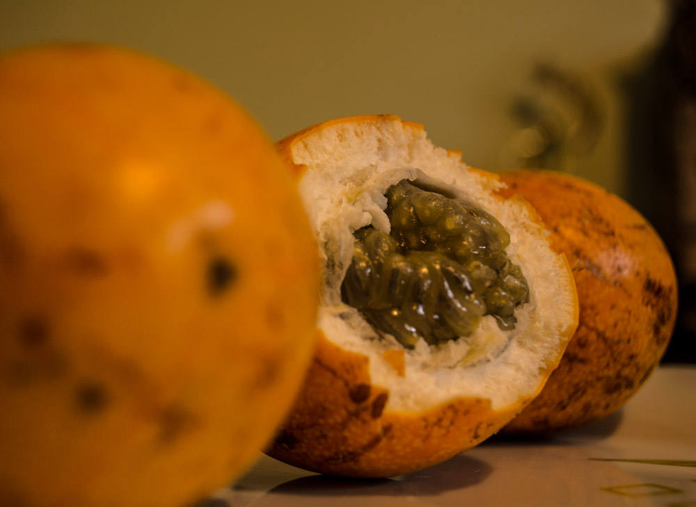 The Granadilla is Sweet and Tasty