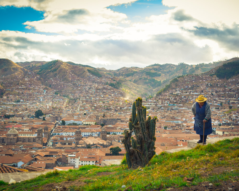 A Landscapes of the City of Cusco