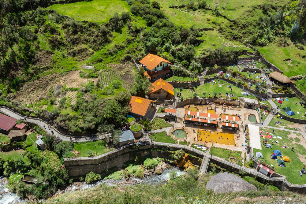 The Thermal Baths of Conoc Seen from Above (Hebert Edgardo Huamani Jara)
